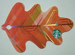Starbucks - USA - 2016 - CN 6126 3486 - Fall 2016 - Orange - Gift Cards