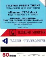 TARJETA TELEFONICA DE ALBANIA. URMET (079) - Albania
