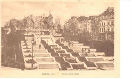 Bruxelles - CPA - Brussel - Mont Des Arts - Musées