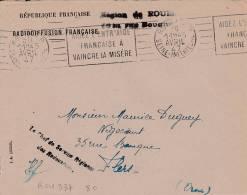 ROUEN - Flamme De 1947 - Postmark Collection (Covers)