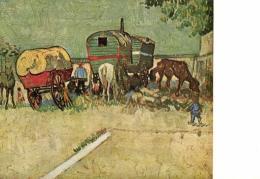 B 3766 - Tableau De Vincent  Van Gogh     Halte Des Bohémiens - Schilderijen