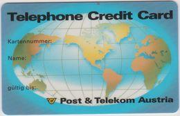 ÖSTERREICH KREDITCARD - Phonecards