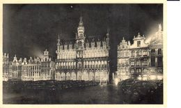 Bruxelles - CPA - Brussel - Chocolat Martougin - Illumination Grand'Place - Brussel Bij Nacht
