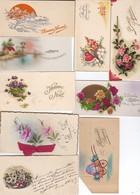 9 Mini Cartes ( Heureuses Pâques, Bonnr Fête, Heureux Noêl, Bonne Année, + Autres....)---voir 1 Scan - Cartes