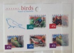 Australia 2001  FLORA AND FAUNA BIRDS SELF ADHESIVE  SHEET  MNH - 2000-09 Elizabeth II