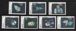 NICARAGUA 1987 ESPACE  YVERT N°1461/62-A1180/84  NEUF MNH** - Space