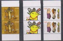 Europa Cept 2006 Portugal, Azores, Madeira 3v Pair  ** Mnh (38159A) Face 4.80€ - Europa-CEPT