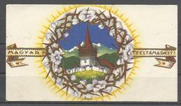 "Hungary, ""Magyar Feltamadast!"" -Hungarian Resurgence, Signed Bozo,  1942. - Pâques"