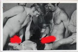 Pornographie - Fellation - Scène A Plusieurs Personnages - Carte Photo - Editeur : Forte (103870) - Autres