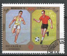Sharjah & Dependencies 1972. #B (U) Running And Soccer * - Ete 1972: Munich