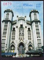 El Salvador 2003 Churches Souvenir Sheet Unmounted Mint. - El Salvador