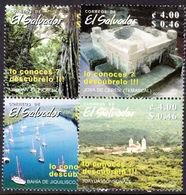 El Salvador 2002 Tourism Unmounted Mint. - El Salvador