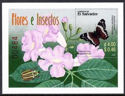 El Salvador 2003 Flora And Fauna Souvenir Sheet Unmounted Mint. - El Salvador