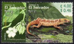 El Salvador 2003 Flora And Fauna (2nd Issue) Unmounted Mint. - El Salvador