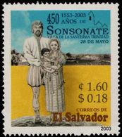El Salvador 2003 Sonsonate City Unmounted Mint. - El Salvador