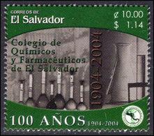 El Salvador 2004 Pharmaceutical College Unmounted Mint. - El Salvador