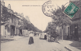 (39)   SENNECEY LE GRAND - La Grande Rue - France