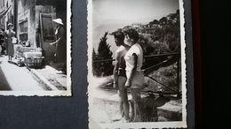 23 PHOTOS DE VOYAGE D UN COUPLE CÔTE D AZUR NICE CANNES MENTON MONACO  Lieux Communs Années 1950 - Lieux