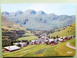73 ,saint Sorlin D'arves ,vue Générale En 1971..... Circulée Timbrée....cpsm...gf . - Autres Communes