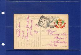 ##(DAN183)-1917-- Cartolina Postale  In Franchigia, Da Comando Genio IV^ Zona Annullo  Corpo Armata  Per Moncalieri - Weltkrieg 1914-18
