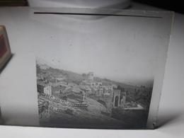 159 - Plaque De Verre - Italie - Assise - Glasplaten