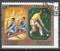 Sharjah & Dependencies 1972. #C (U) Canoeing And Field Hockey * - Ete 1972: Munich