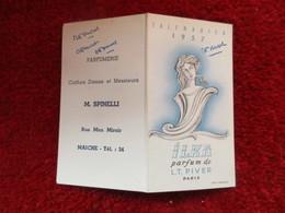 Calendrier 1957 / Ilka Parfum De L.T. Piver Paris - Calendriers