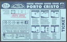 Spain,Mallorca, Porto Cristo, Caves, 2015. - Pâques