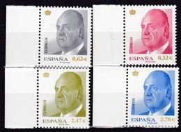 2009,  Spanien, 4385/88,  König Juan Carlos I. Sellos Postales: El Rey Juan Carlos I.  MNH ** - 1931-Hoy: 2ª República - ... Juan Carlos I