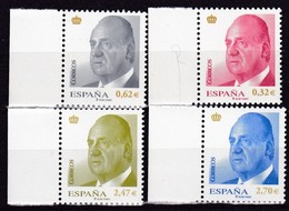 2009,  Spanien, 4385/88,  König Juan Carlos I. Sellos Postales: El Rey Juan Carlos I.  MNH ** - 1931-Oggi: 2. Rep. - ... Juan Carlos I