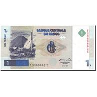 Billet, Congo Democratic Republic, 1 Franc, 1997, 1997-11-01, KM:85a, NEUF - Democratic Republic Of The Congo & Zaire