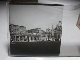 162 - Plaque De Verre - Italie - Rome - Vatican - Glasplaten