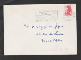 Flamme Dpt 63 : CLERMONT FERRAND RP (SCOTEM N°  9297 émise Le 06/06/1988) : Aéroport International Au Centre De L'Europe - Poststempel (Briefe)