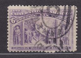 United States 1893 Mi. 78      6 C. Kolumbus Colon Columbus - Usados