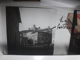 167 - Plaque De Verre - Italie - Rome - Vatican: La Forteresse - Glasplaten