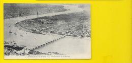 BORDEAUX En Avion Pont De Pierre Et La Bastide (Bonnet) Gironde (33) - Bordeaux