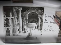 172 - Plaque De Verre - Italie - Rome - Vatican: Une Galerie Du Musée Du Vatican - Glasplaten