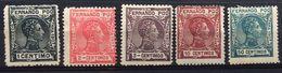 Spain, Spagne, España, Fernado Poo, 1907 Alfonso XIII - Fernando Po