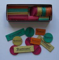 - Boite De Jetons - Apéritif Cap Corse DAMIANI - Boite De Jetons Pour Jeu De Cartes - - Playing Cards