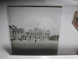 174 - Plaque De Verre - Italie - Rome - Vatican - Glasplaten