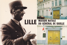 59 LILLE / MAISON NATALE DU GENERAL DE GAULLE / PORTRAIT - Francia