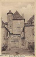 46 - BRETENOUX - Le Château Du Fort. Entrée Principale. Maison Molin De Teyssieu - Bretenoux