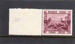 Congo Belge: Année 1939  N°209** - Belgisch-Kongo