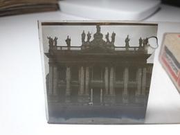 177 - Plaque De Verre - Italie - Rome - Glasplaten