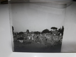 178 - Plaque De Verre - Italie - Rome - Glasplaten