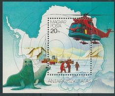 B0684 Hungary Polar Philately Transport Fauna Animal Geography S/S MNH - Forschungsprogramme