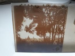 179 - Plaque De Verre - Italie - Rome - Glasplaten