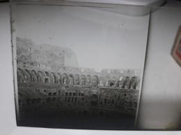 191 - Plaque De Verre - Italie - Rome - Glasplaten
