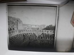 192 - Plaque De Verre - Italie - Rome - Glasplaten