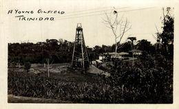 RPPC   A YOUNG OILFIELD TRINIDAD FOTOPOSTAL - Trinidad